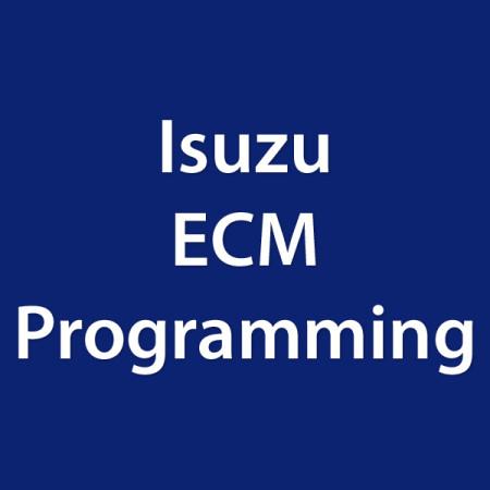 Isuzu ECM Programming