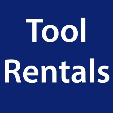Tool Rentals