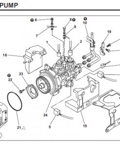 2001-2004 Mitsubishi 4M50 Injection Pump Replacement ...