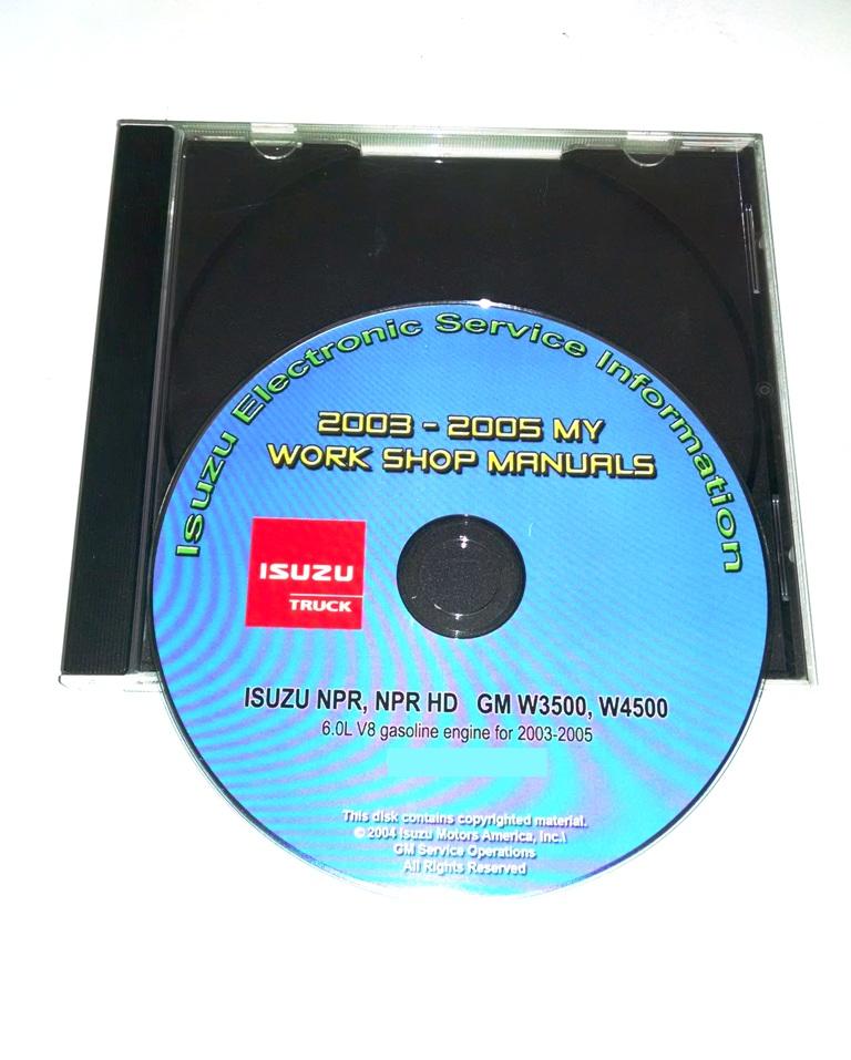 2005 w4500 wiring diagram 2003 2005 npr npr hd w3500 w4500 6 0l gas cd service manual  npr npr hd w3500 w4500 6 0l gas cd