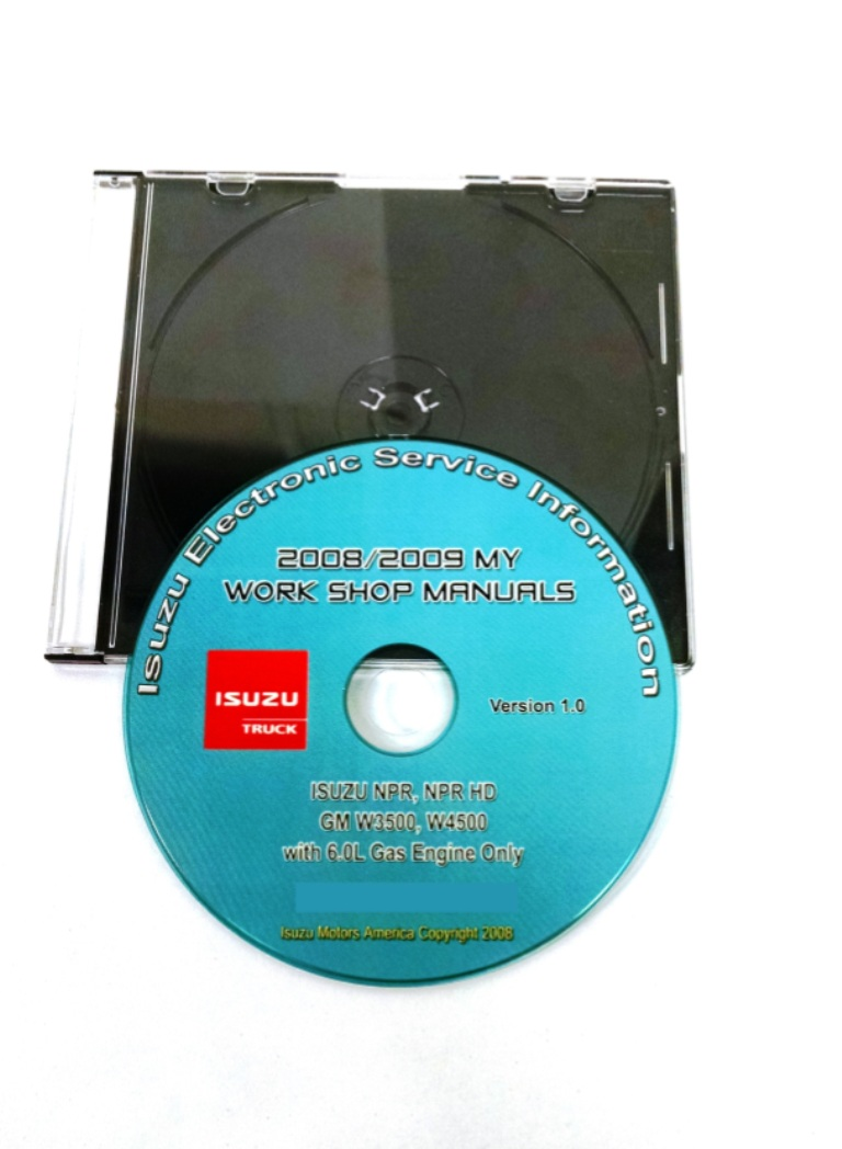 2008-2009 NPR (Gas) Service Manual ...