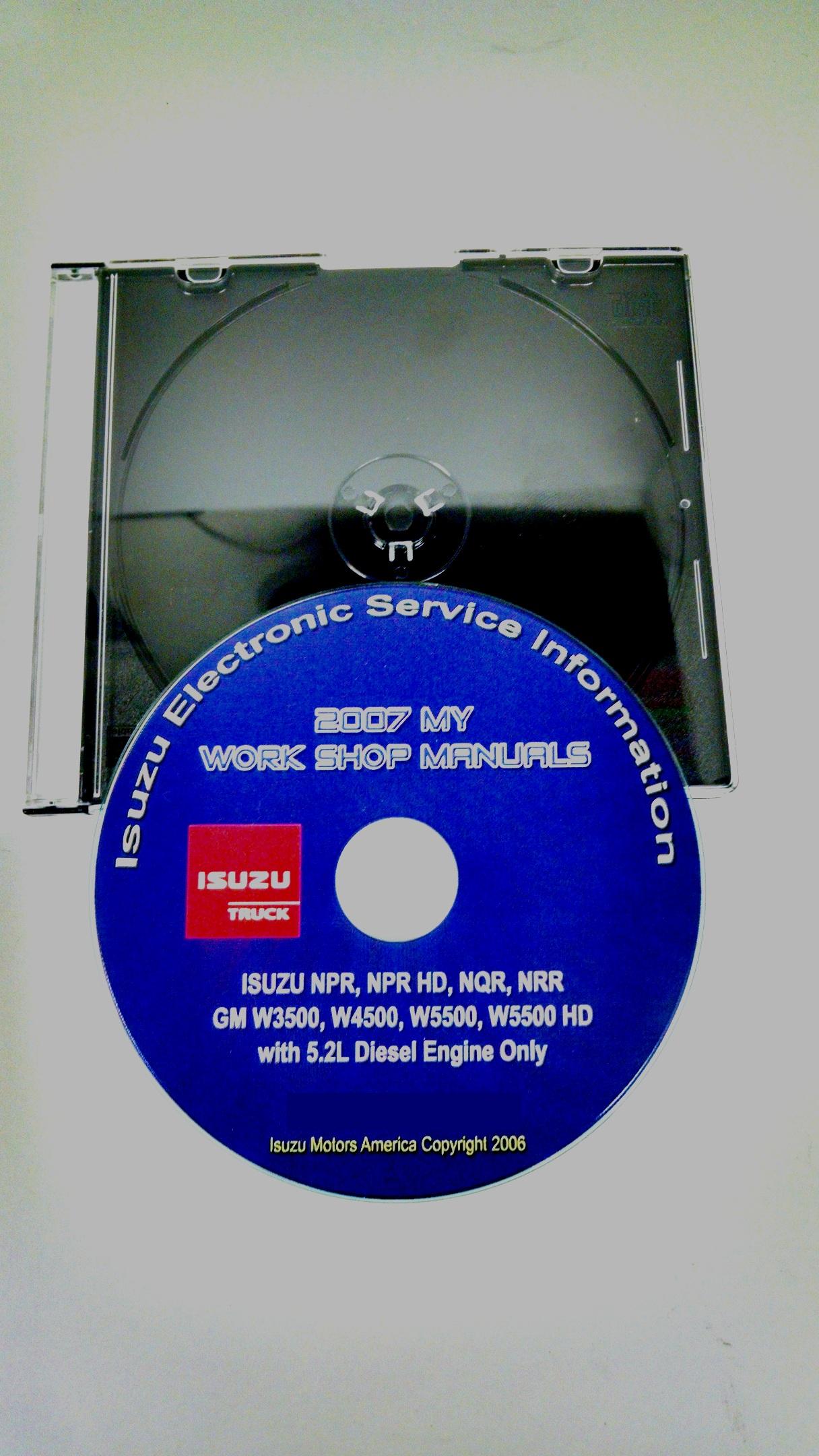 2007 NPR/ NQR/ NRR & GM W3500/ W4500/ W5500 Service Manual ...