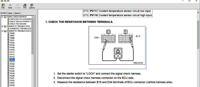 nissan ud 1800 wiring diagram ud truck diagnostic equipment     truck tech help  ud truck diagnostic equipment     truck