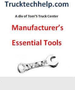 Manufacturer's Tools